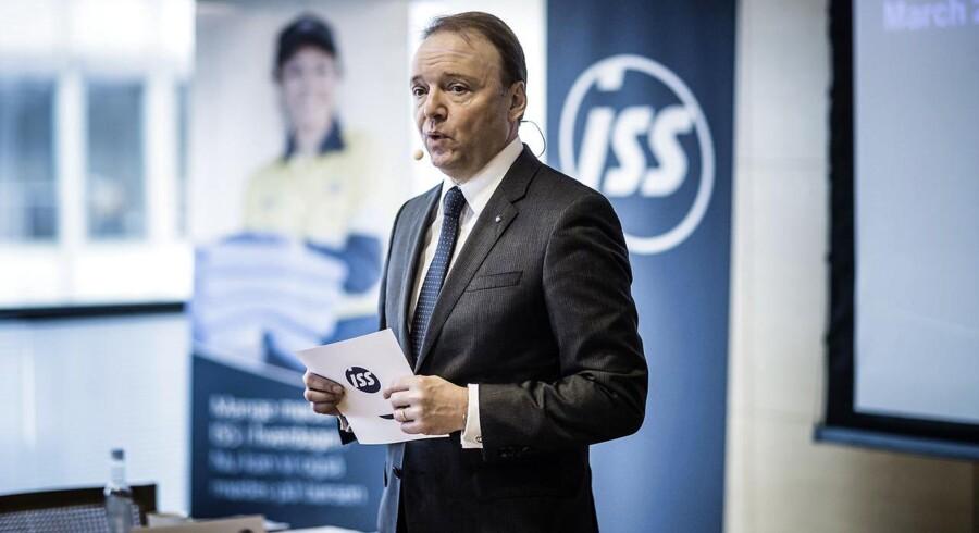 Opkøb for ISS er stadig en mulighed, selvom den grundlæggende strategi er at skabe organisk vækst i forretningen. Det siger koncernchef i ISS Jeff Gravenhorst.