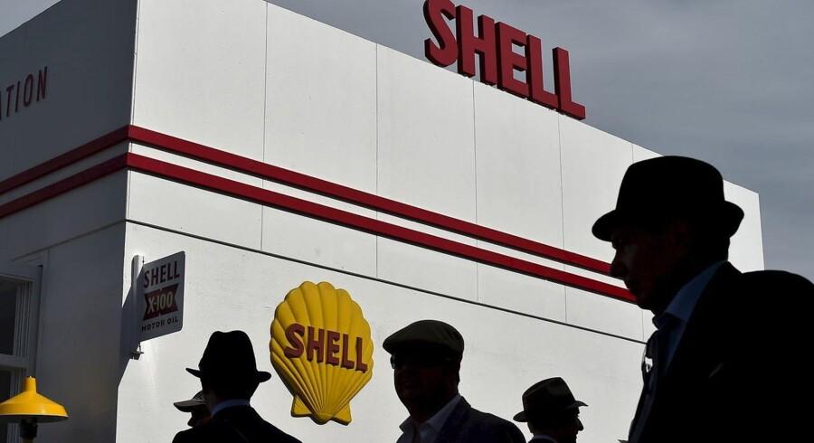 Støtten til premierminister David Camerons kamp for at Storbritannien skal forblive en del af EU kommer fra blandt andet Shell.