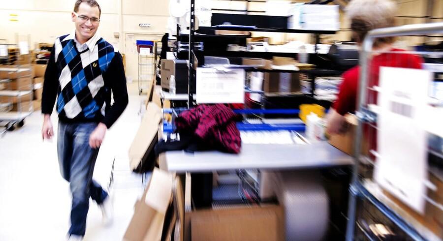 Administrerende direktør Nicolai Kærgaard fra Smartguy har trukket et tilbud om køb af svensk internetbutik tilbage.