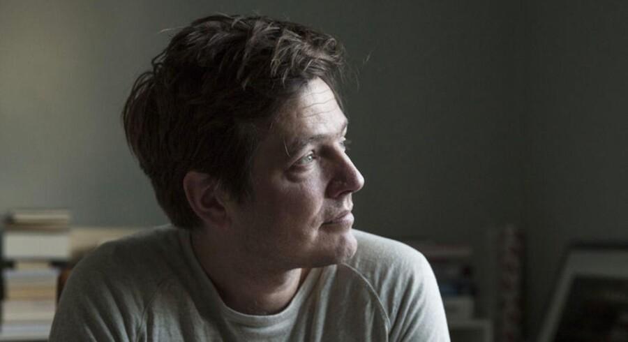 Filminstruktør Thomas Vinterberg i hjemmet.