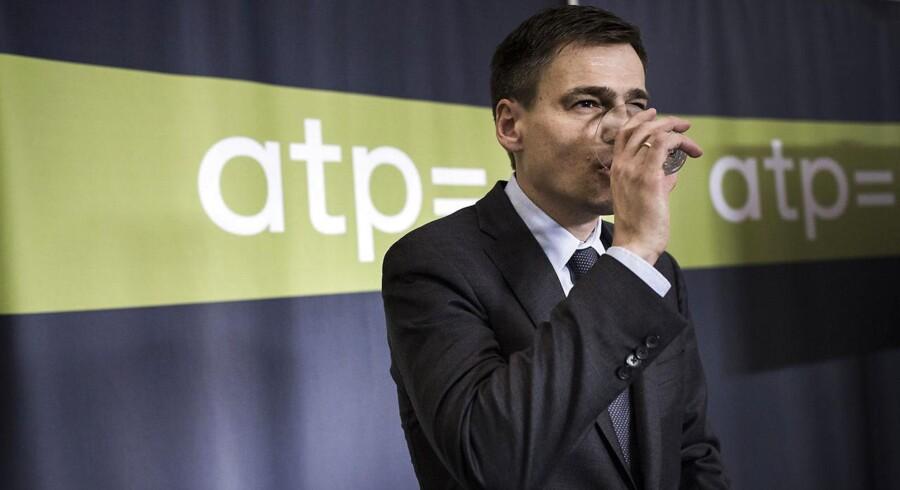 Det er ikke utænkeligt, at ATP-direktør Carsten Stendevad i disse dage har byttet vandglasset ud med et champagneglas. ATP's investering i Nets har været usædvanlig god, siger han.