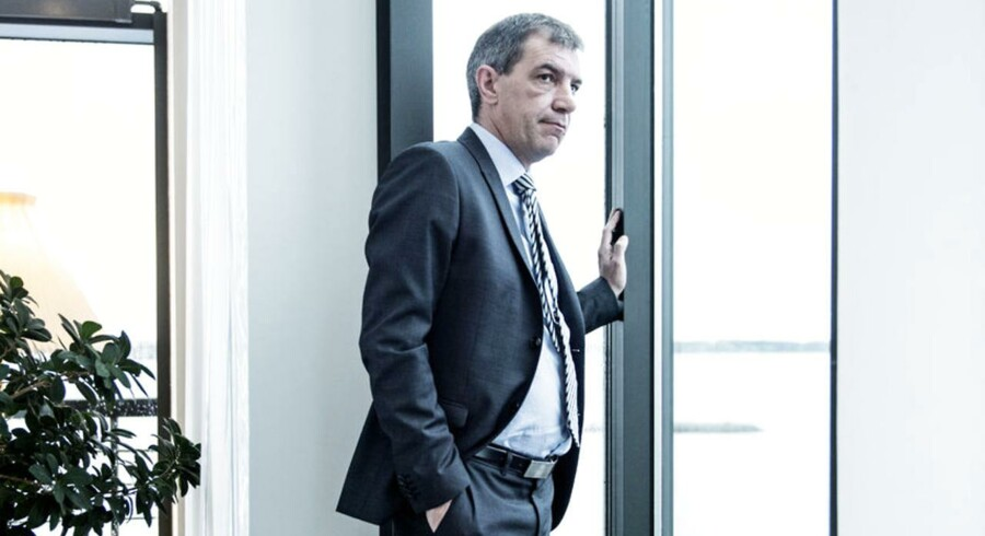 Lars Petersson, adm. direktør i Sparekassen Sjælland .