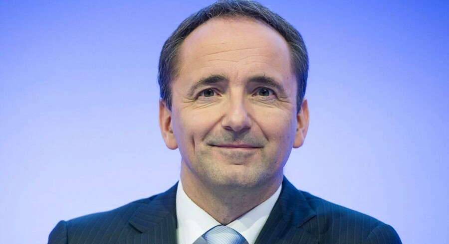 Jim Hagemann Snabe,  AFP PHOTO / DPA/ UWE ANSPACH GERMANY OUT