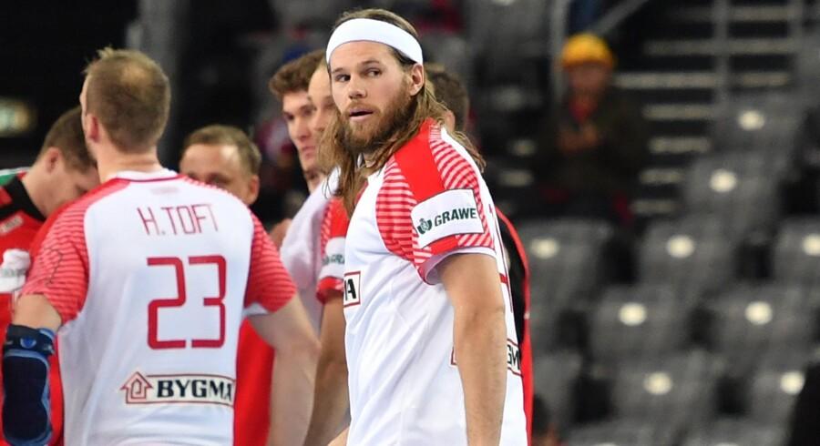 Mikkel Hansen kalder det en katastrofe, at talentchef Claus Hansen har sagt sin stilling op i Dansk Håndbold Forbund. Scanpix/Andrej Isakovic/arkiv