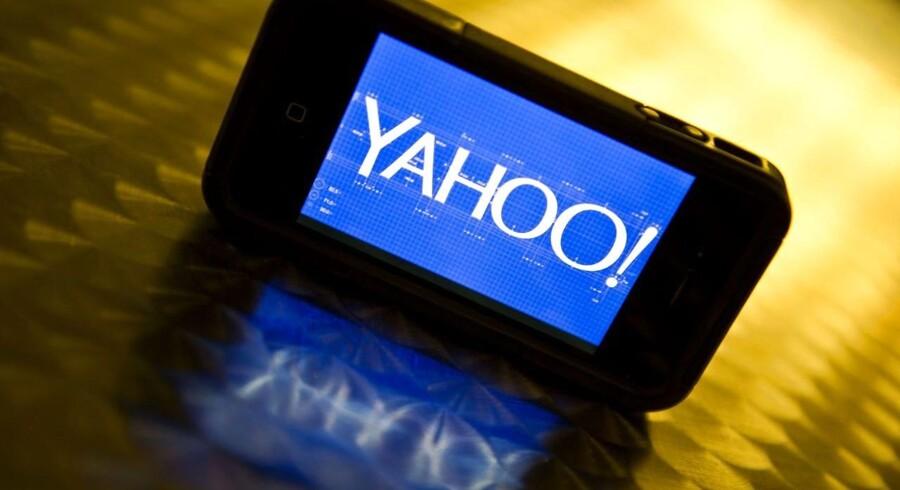 Efter ti år med Google er det nu Yahoo, der ruller ind som den faste søgemaskine i internetbrowseren Firefox i USA. Det sker allerede fra december. Arkivfoto: Karen Bleier, AFP/Scanpix