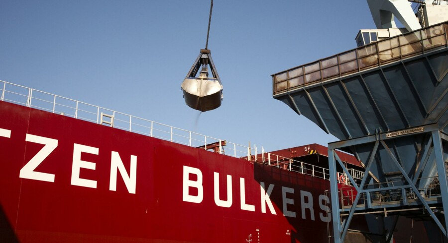 Rederiet J. Lauritzen arbejder i bulkmarkedet, hvor fragtraterne også er meget lave og hele tiden under pres. Foto: PR