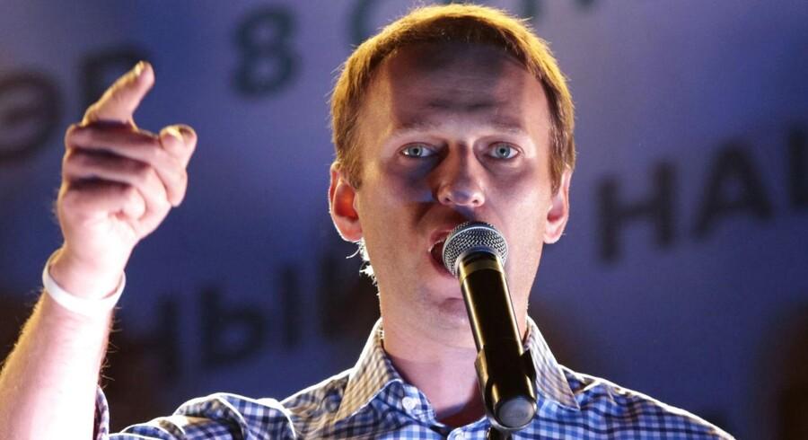Aleksej Navalny risikerer 10 års fængsel i kontroversiel sag.