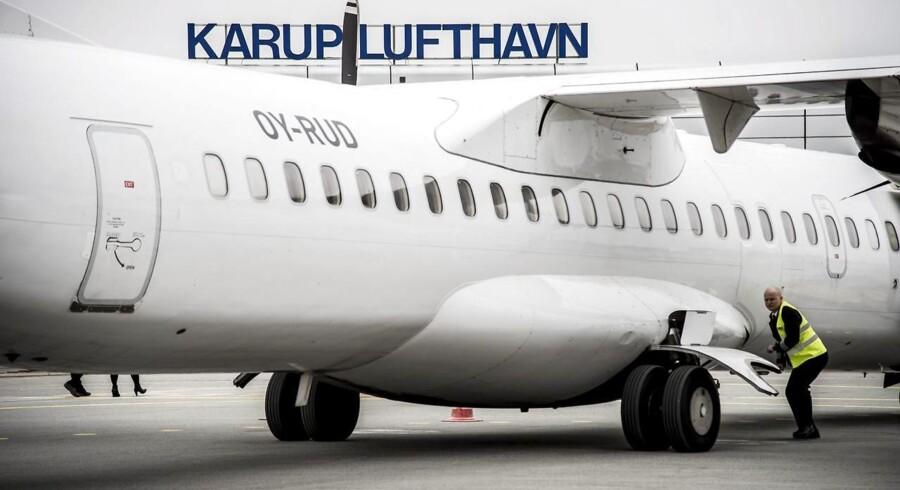 Den jyske lufthavn Karup skifter navn og får flere afgange.