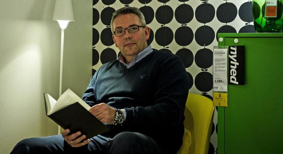 Dennis Balslev, administrerende direktør IKEA Danmark, kører den danske gren af den svenske møbelgigant videre i vækstsporet.
