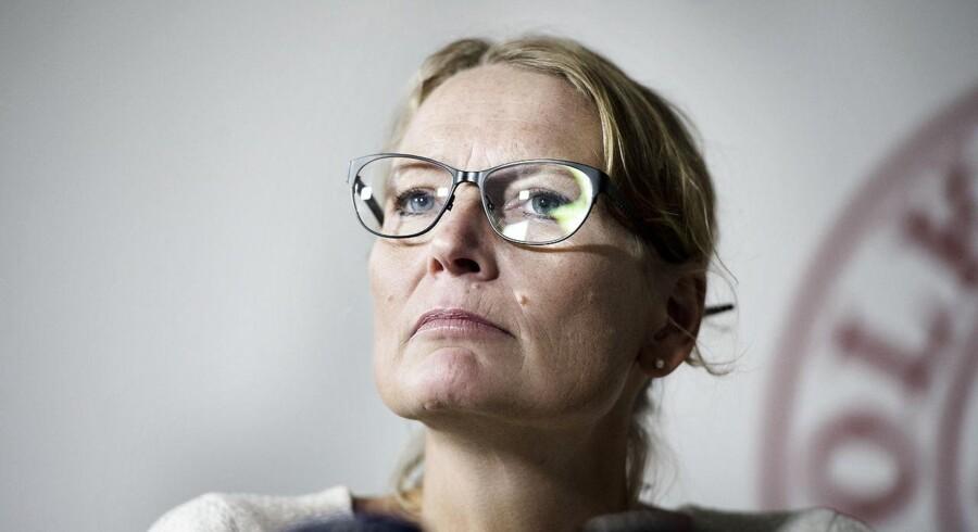 Rigsrevisor Lone Strøm er foreløbig tilfreds med tiltagene for at lukke hackerhuller hos ministerier og myndigheder. Arkivfoto: Liselotte Sabroe