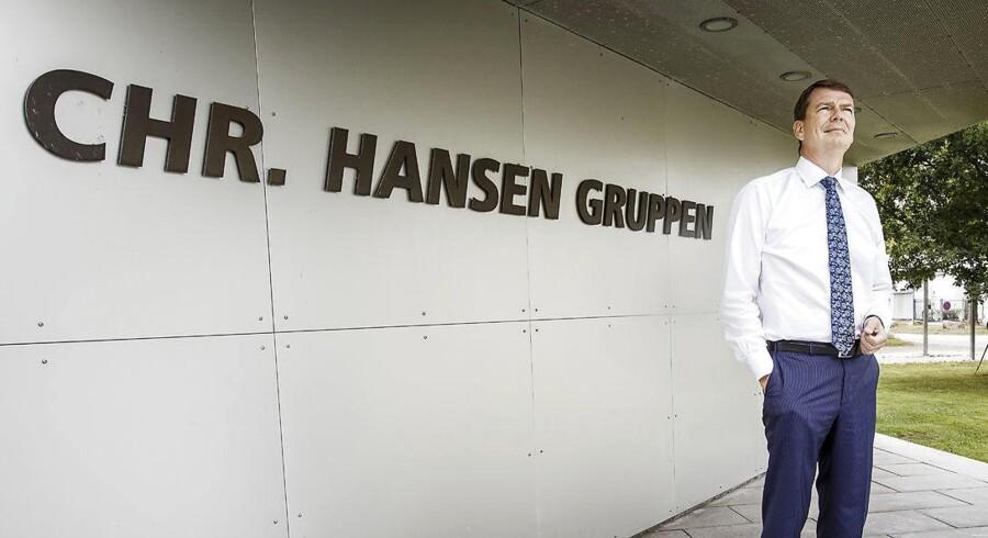 Chr. Hansens topchef Cees de Jong