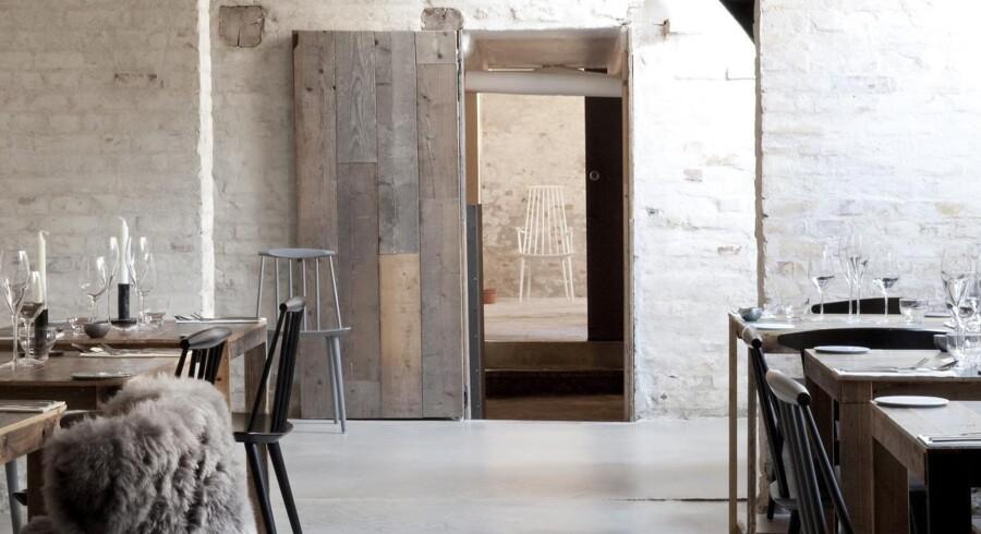 Cofoco-restauranten Höst, designet af Norm Architechts og Menu, blev i 2013 kåret til »verdens flotteste« i Restaurant & Bar Design Awards. Blandt andet for at have bragt »en bid af det rustikke Skandinavien midt ind i det urbane København.« Foto: Cofoco