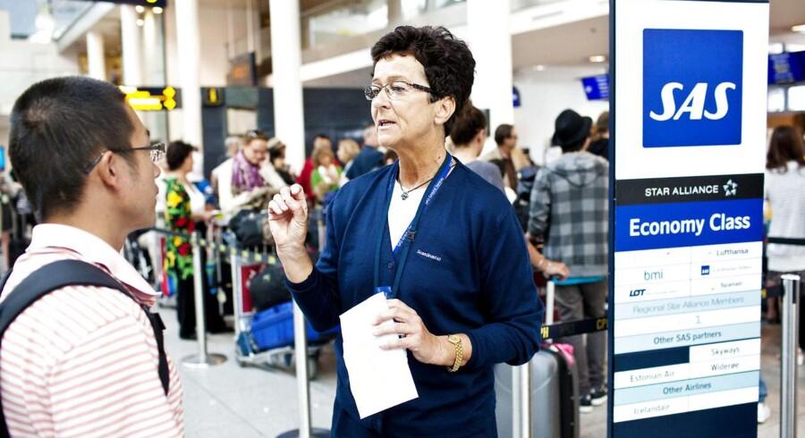Passagerer, der rejser med SAS, vil stadigvæk møde medarbejdere i flyselskabets uniform i Oslo, Stockholm og København.