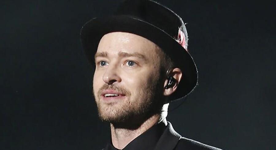 Arkivfoto: Justin Timberlake
