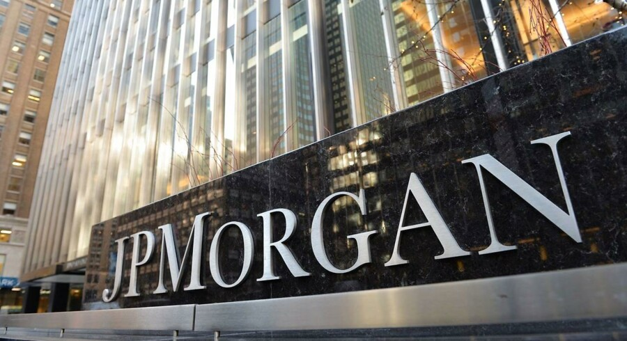 JPMorgans administrerende direktør, Jamie Dimon, forsvarer USA's største banker mod potentielt nye reguleringer fra politisk hold. / AFP / STAN HONDA