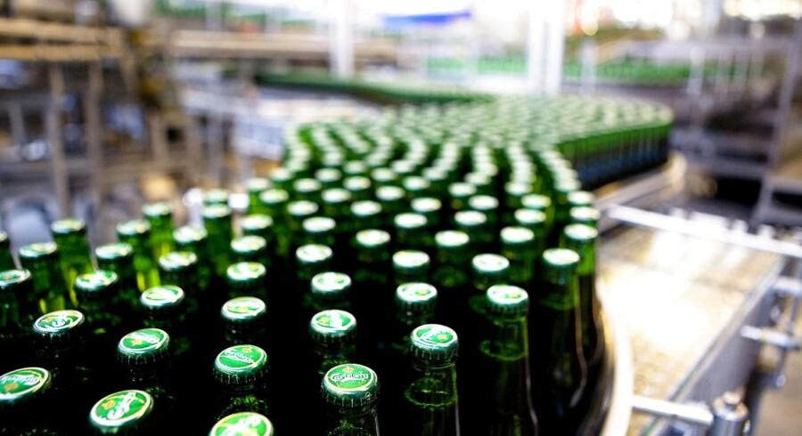 Hollandske Heineken har fremlagt et særdeles positivt regnskab med vækst i alle geografiske områder, og det tegner lyst for Carlsberg, vurderer senioranalytiker i Sydbank, Morten Imsgard, der venter, at Carlsbergs geografiske udvikling i grove træk vil følge Heinekens. Arkivfoto.