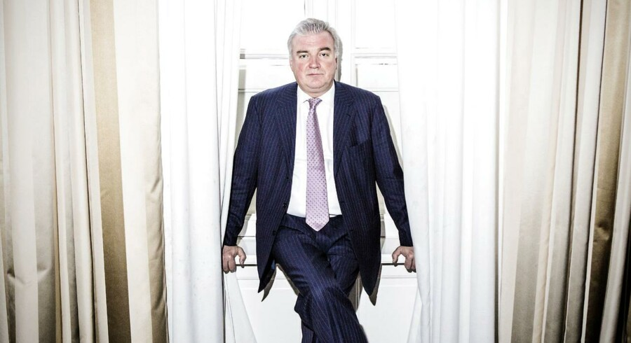 Lars Seier Christensen, stifter og afgående adm. direktør i Saxo Bank.