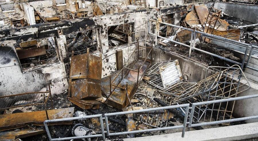 Svinkløv Badehotel brændte natten til mandag den 26. september fulstændigt ned til grunden.