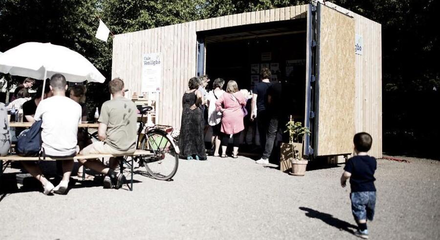 »Venligboernes« cafe i Enghaveparken. Arkivfoto.