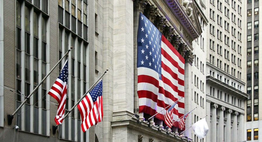 Amerikanske Wall Street.