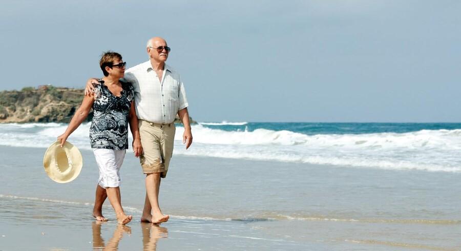 Danskerne har fået en stigende lyst til at spare op til alderdommen.