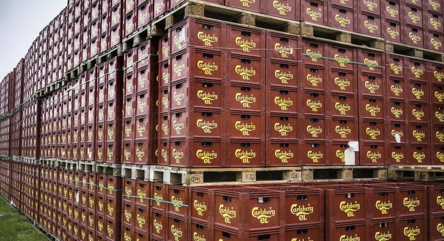 Bryggerigiganten Carlsberg er i sigtekornet hos hedgefonden Marshall Wace