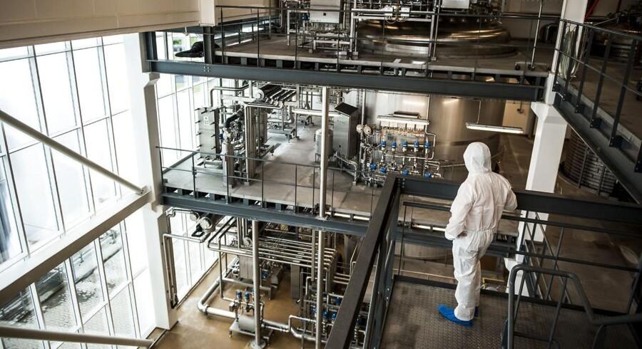 Ingrediensvirksomheden Chr. Hansens farveenhed kan blive større, for selskabet ser nemlig på mulighederne for opkøb, lyder det fra divisionens chef, Jørgen M. Erichsen.