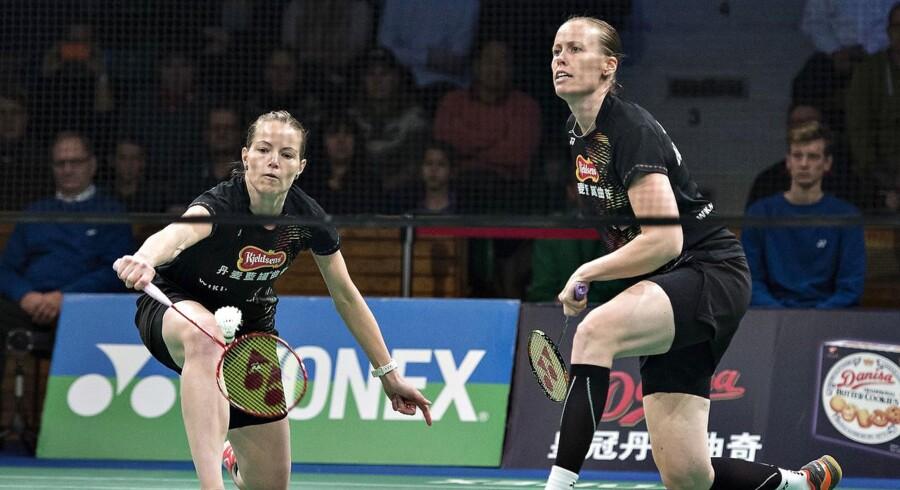 Arkivfoto. De to toppar i dansk badminton har på trods af alderen ingen planer om at stoppe. I denne uge gælder det VM.