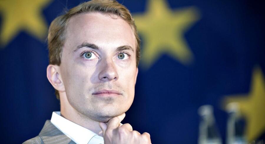 »Vi kommer ikke til at sidde i en regering, der vil afskaffe EU-forbeholdene eller overdrage mere suverænitet til EU. Det er helt klart,« lyder det fra DFs EU-parlamentariker Morten Messerschmidt.