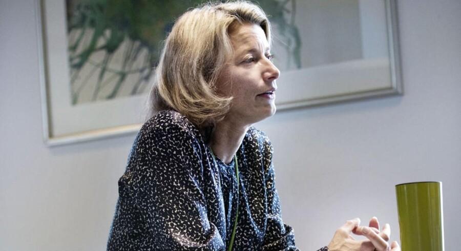 »NNIT har vist, at det kan lade sig gøre med en børsnotering. Man kunne have stillet spørgsmålstegn ved, om NNIT var for lille, men det kunne lade sig gøre,« siger Eva Berneke, topchef i KMD.