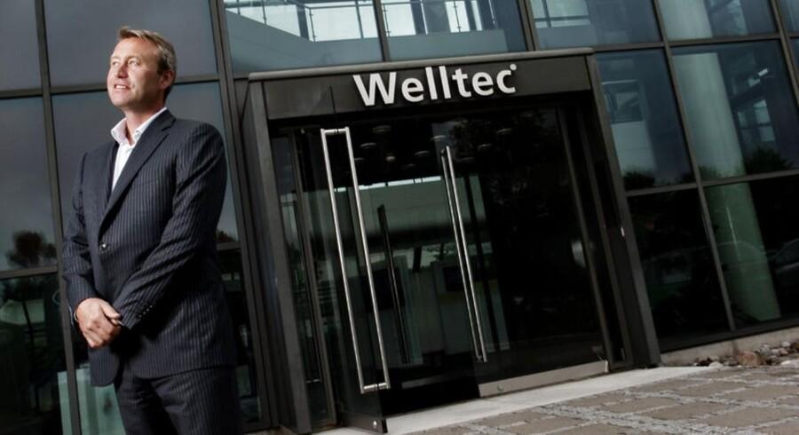 Jørgen Hallundbæk, administrerende direktør for den danske virksomhed Welltech, som producerer robotudstyr til off-shore industrien.