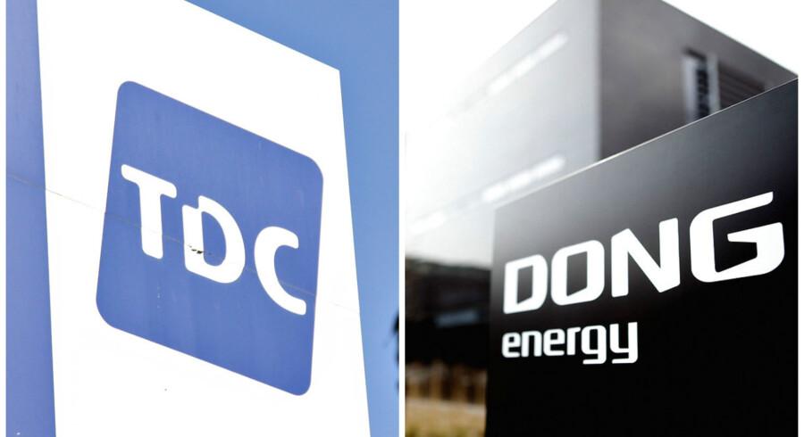 Dong og TDC kom i fokus fra morgenstunden.