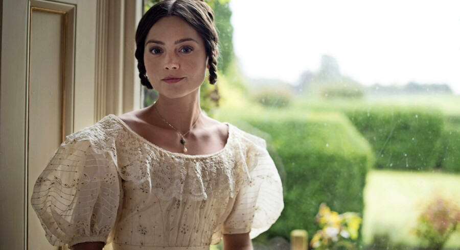 Jenna Coleman i rollen som dronning Victoria.Foto: Patrick Smith/ITV