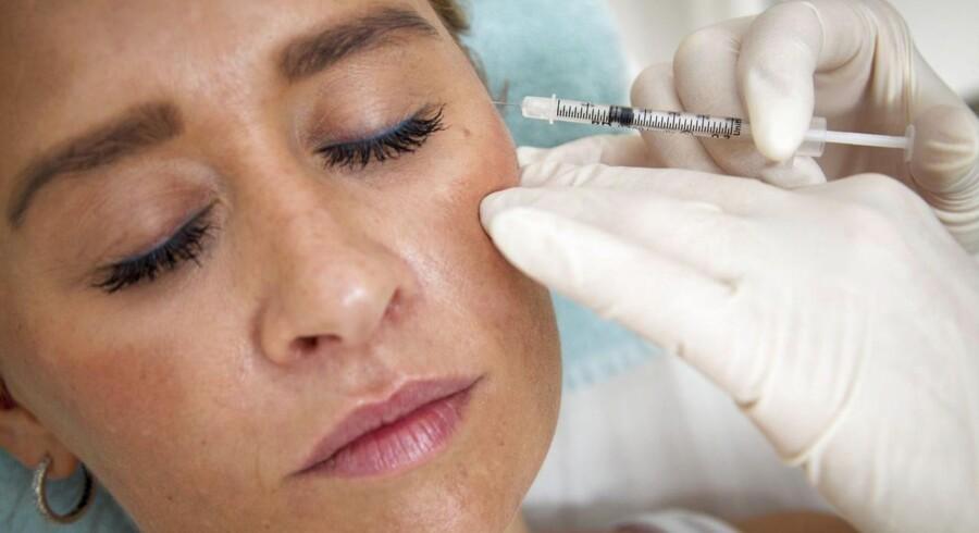 Firmaet bag Botox er klar med behandling mod dobbelthager, så nu kan man både slippe for rynker i panden og den ekstra hage.
