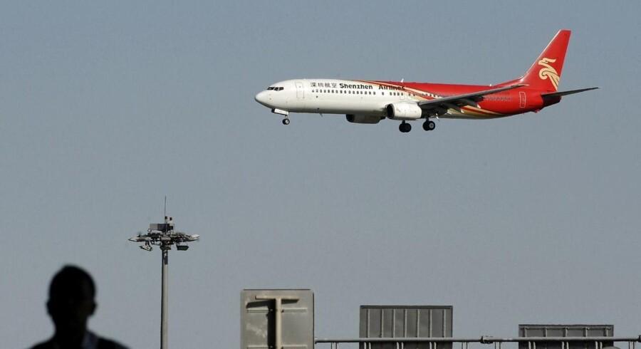 Beijing Capital Airlines startede med at flyve i september sidste år, og det var planen, at selskabet skulle flyve til København to gange om ugen i april-oktober, men det bliver ikke til noget.
