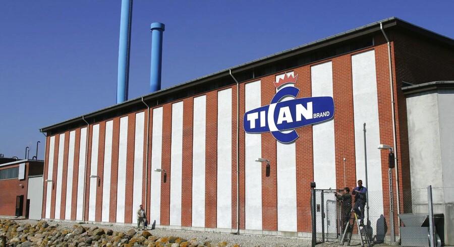 Tican slagteriet på havnen i Thisted.