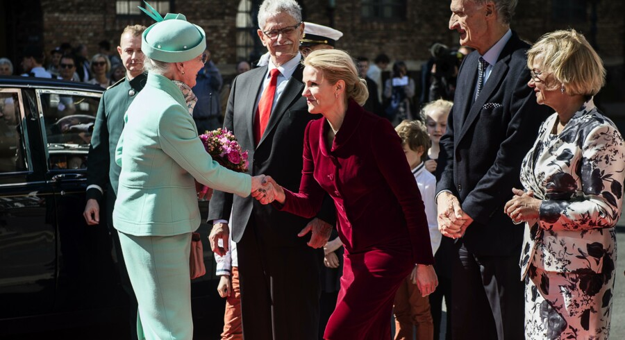 Constitution Celebration in Copenhagen on Friday June 5. 2015. The Danish Royal family participates and Queen Margrethe makes a speech.