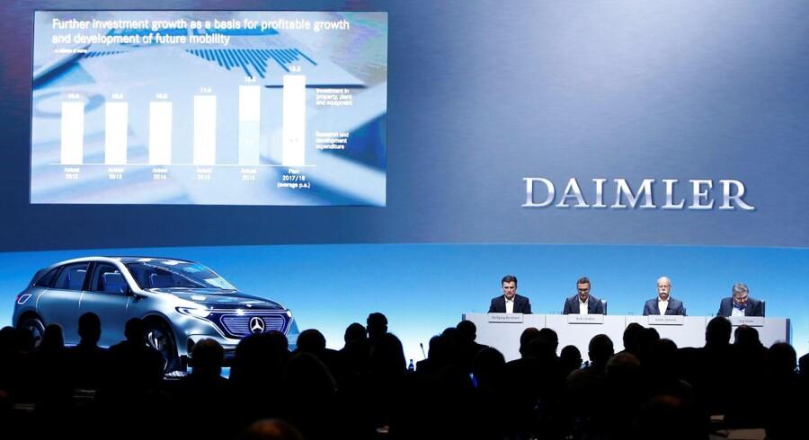 Arkvifoto: Bestyrelsen i Daimler.