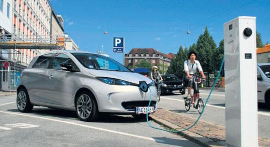 Arkivbillede af el-bilen Renault Zoe