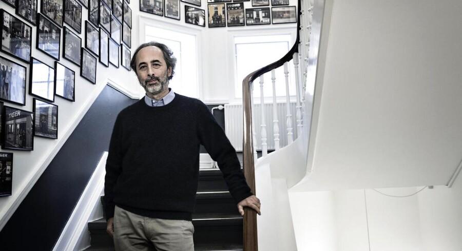 Lennart Lajboschitz, grundlægger af og konceptdirektør for detailhandelsvirksomheden Tiger. Her fotograferet i virksomhedens kontorer ved Rådhuspladsen.