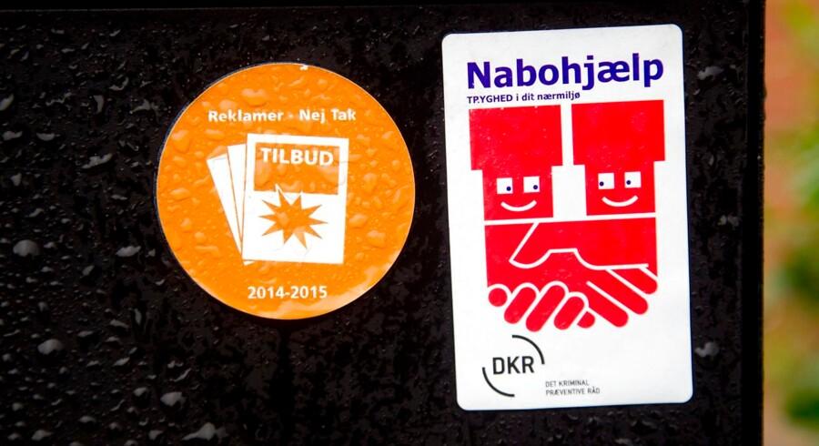 Arkivfoto. Nordjyllands Politi opfordrer til, at naboer hjælper med at holde øje med hinandens huse i ferieperioden.