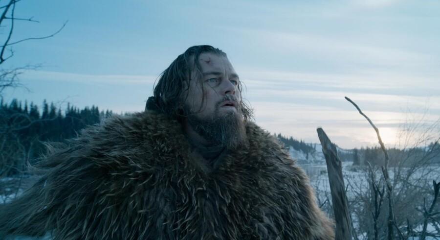Leonardo di Caprio - så er det nu, han skal hente den Oscar, han ikke fik for Titanic.