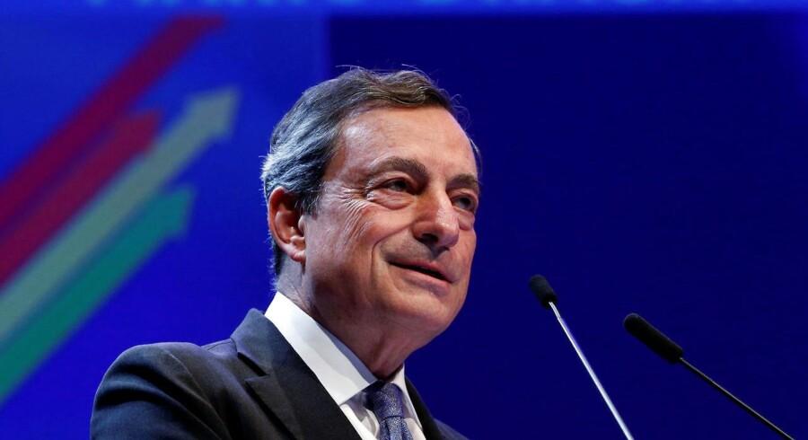 Præsident for ECB, Mario Draghi.