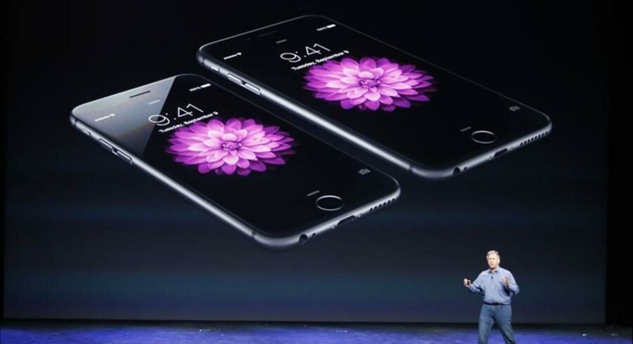 Apple har løftet sløret for to nye iPhone 6-modeller.