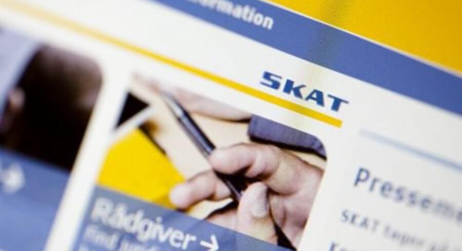 Skats inddrivelsessystem EFI blev lukket 8. september, da det inddrev gæld i strid med loven. Free/Colourbox