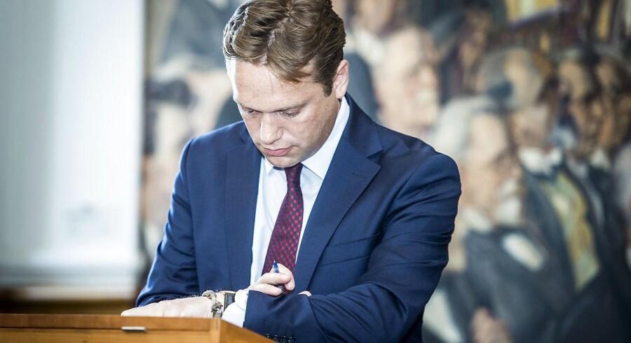 Venstres udlændingeordfører, Marcus Knuth.