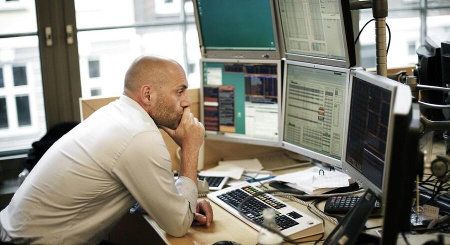 Arkivfoto. Der er ikke de store udsving på det danske aktiemarked onsdag morgen, hvor Chr. Hansen stiger med 1,4 pct. til 397,50 kr. og Coloplast i den modsatte ende ligger til et fald på 1,2 pct. til 439 kr.