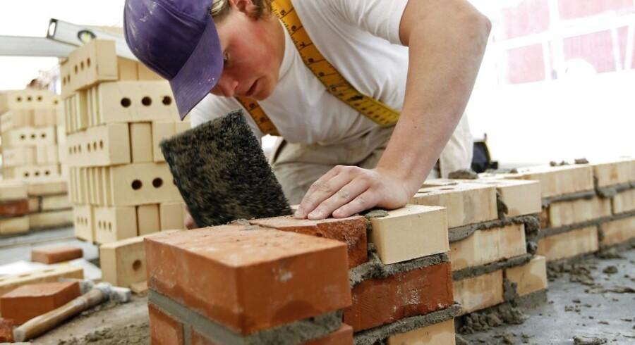 Lærling fra Tradiums bygge- og anlægsudannelse gennemfører lokalt skolemesterskab