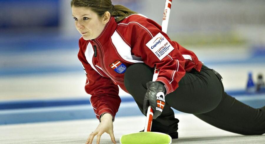 De danske curlingkvinder slog onsdag Tyskland i OL-kvalifikationen og er nu på to sejre af to mulige.