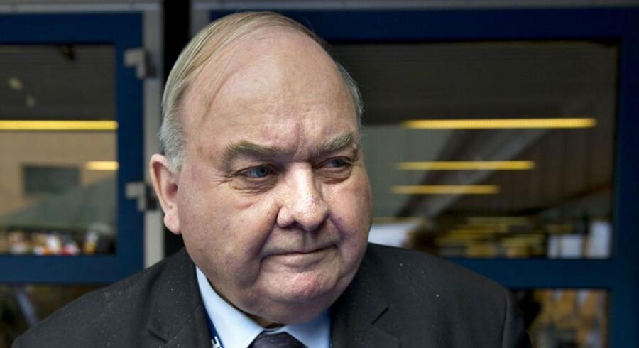 Henning Christoffersen, tidligere formand for Venstre fra 1978-1984 og senere EU-kommissær i EU.